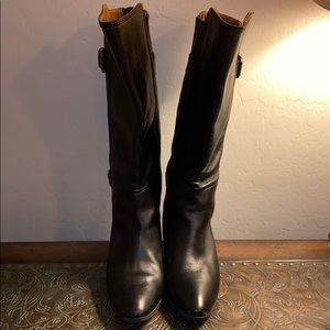 Softt boots Black knee boots Size 11